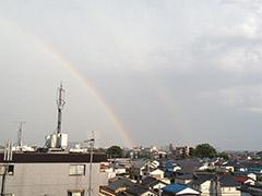 AOKIから虹が・・・_1