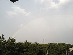 AOKIから虹が・・・_4